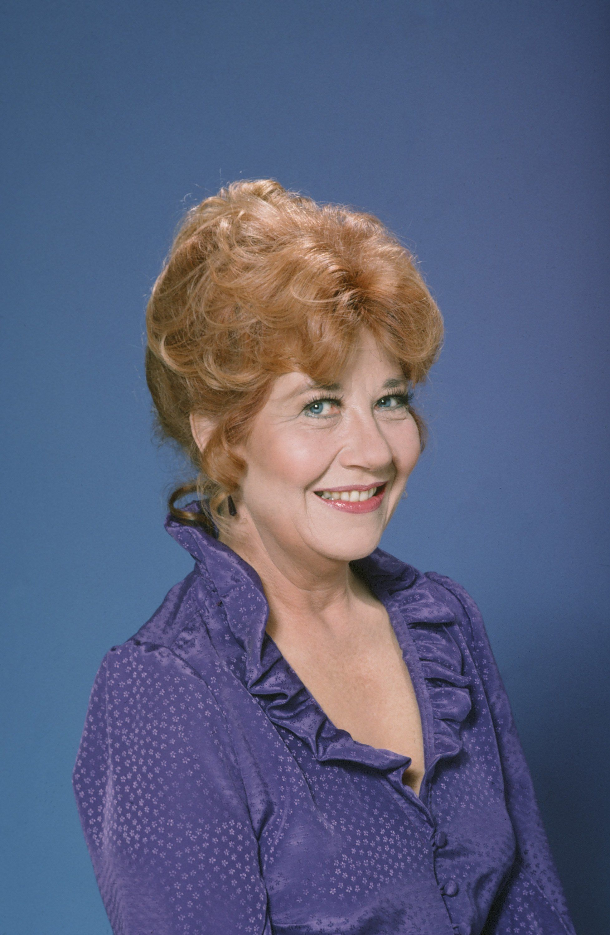 THE FACTS OF LIFE -- Season 5 -- Pictured: Charlotte Rae as Mrs. Edna Ann Garrett -- Photo by: NBC/NBCU Photo Bank