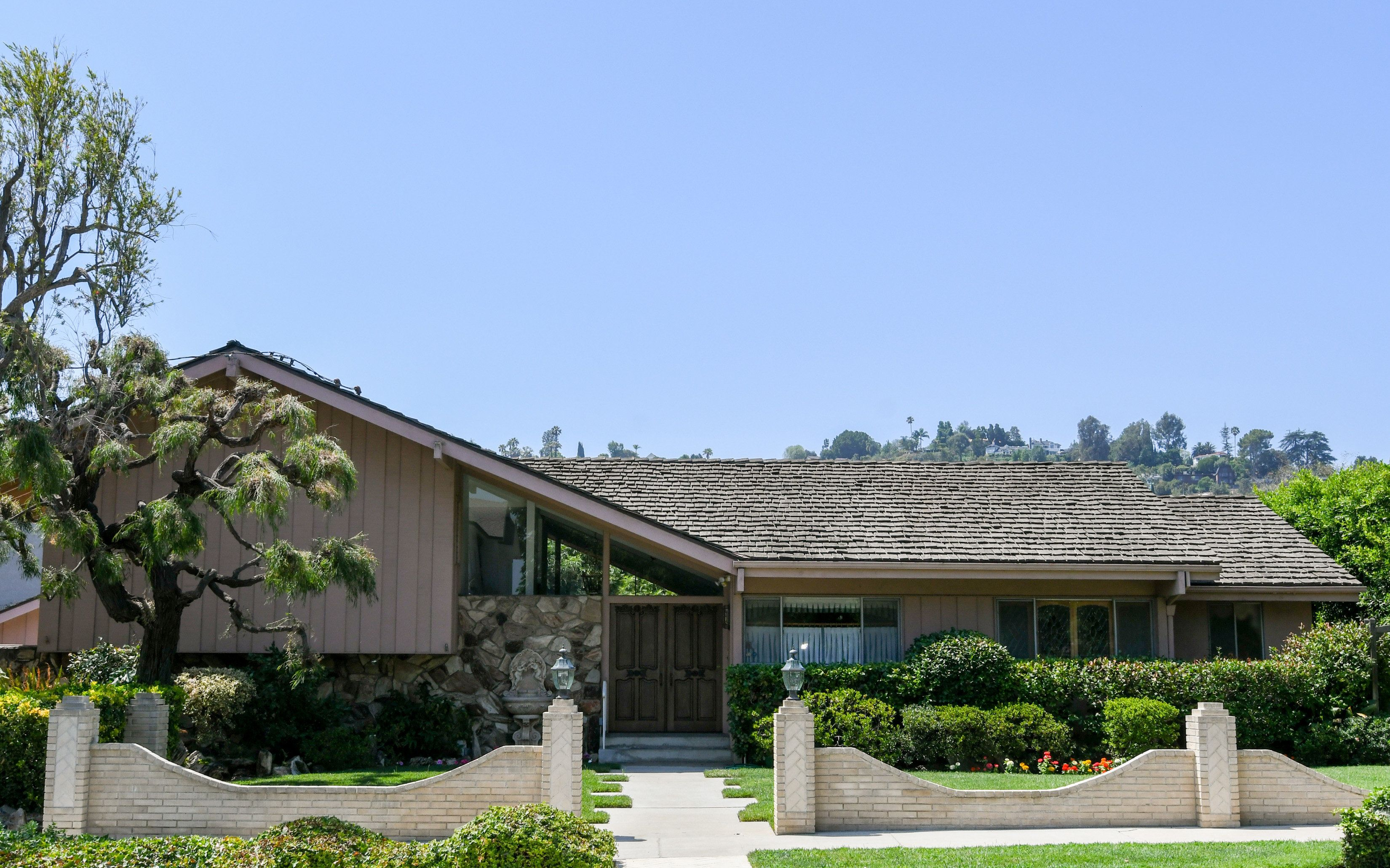 "LOS ANGELES, CA - JULY 19:  The house used in the American sitcom ""The Brady Bunch"" has been listed for sale at $1.885 million July 19, 2018 in Los Angeles, California.  (Photo by PG/Bauer-Griffin/GC Images)"