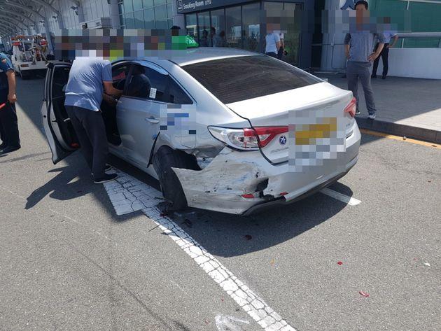 김해공항 질주사고 피해자가 의식을