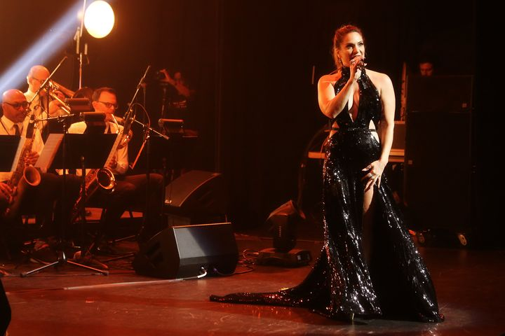 Bean's powerhouse pipes were in full force at her July 30 concert at New York's Apollo Theater.