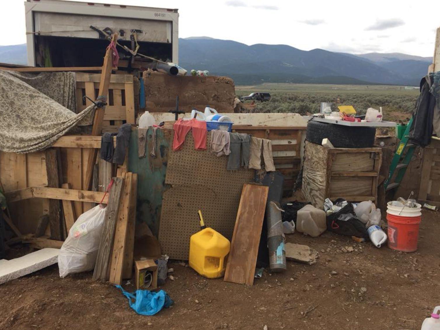 Eleven malnourished children were found at a compound buried underground in New Mexico last