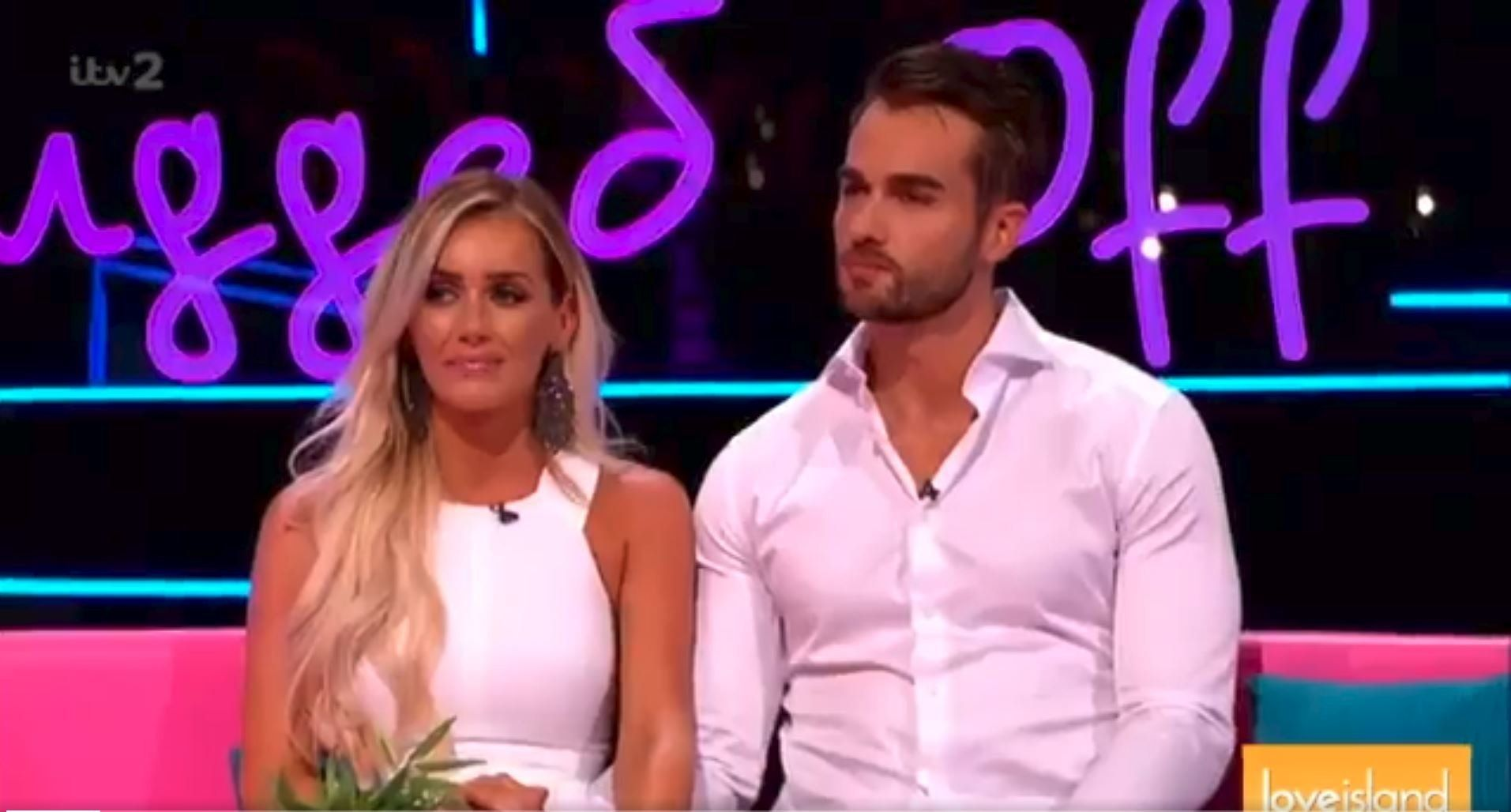 Ruth busts husband Eamonn Holmes 'cracking on' with Love Island's Laura