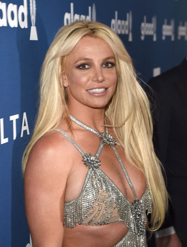 Britney at the GLAAD Awards back in