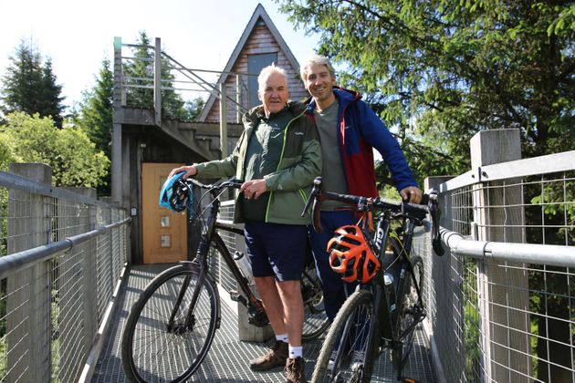 George And Larry Lamb On Cycling, Staying Fit And How You Can Up Your