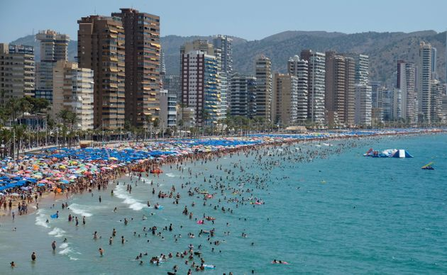 The Benidorm British Business Association and local social services raised over £2,500 so Tomek...