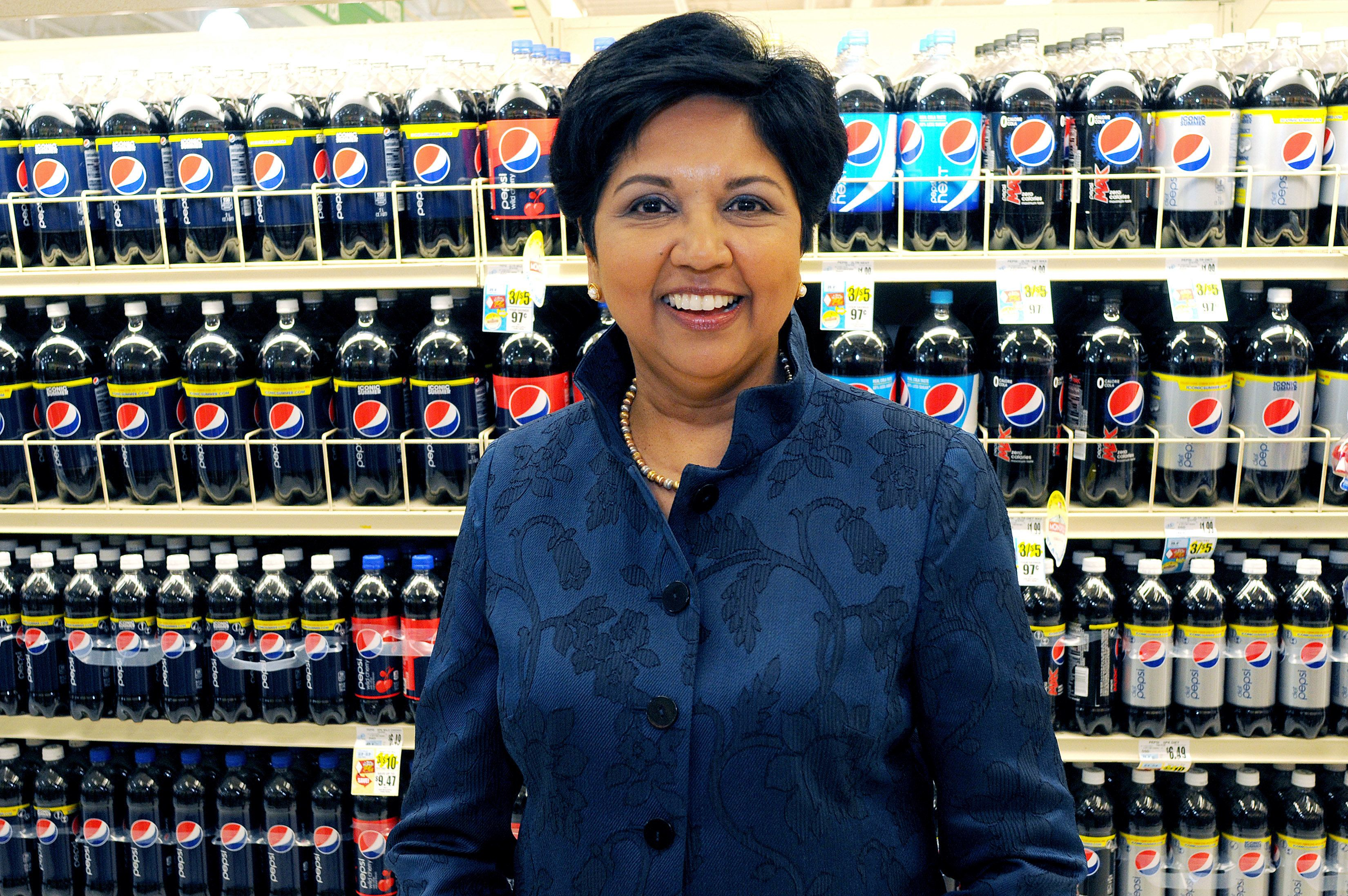 Indra Nooyi, Pepsi's First Female CEO, To Step