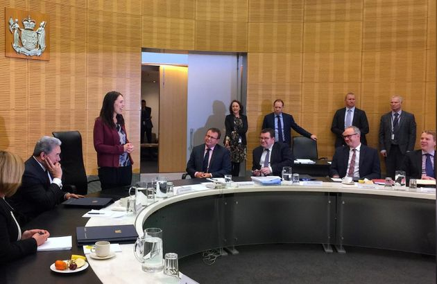 Jacinda Ardern thanked colleagues for allowing her to have time off with her new