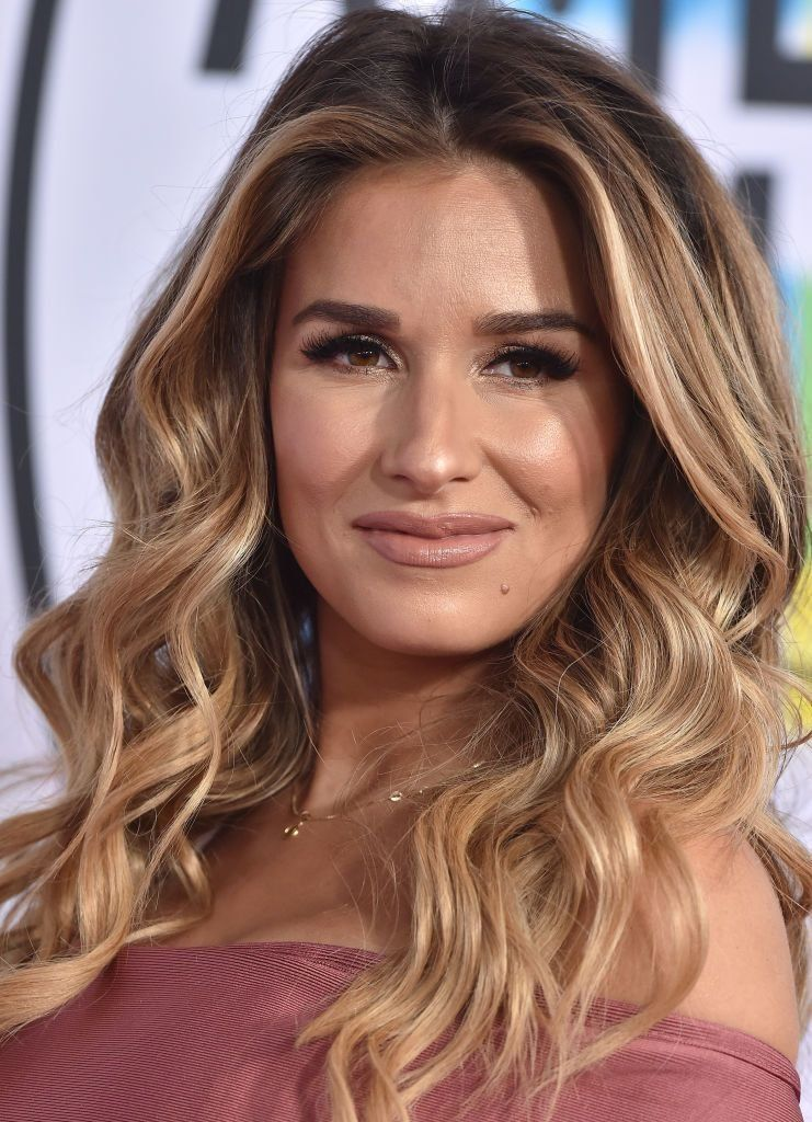 Jessie James Decker wrote about her struggle with postpartum hair loss on her Instagram.