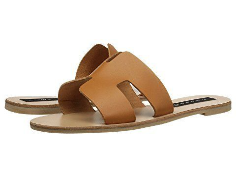 """<strong>Sizes</strong>: 5.5 - 10<br><a href=""""https://www.zappos.com/p/steven-greece-sandal-cognac-leather/product/9034058/col"""