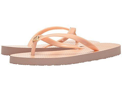 """<strong>Sizes</strong>: 5 - 11<br><a href=""""https://www.zappos.com/p/tory-burch-thin-flip-flop-perfect-blush/product/8461092/c"""