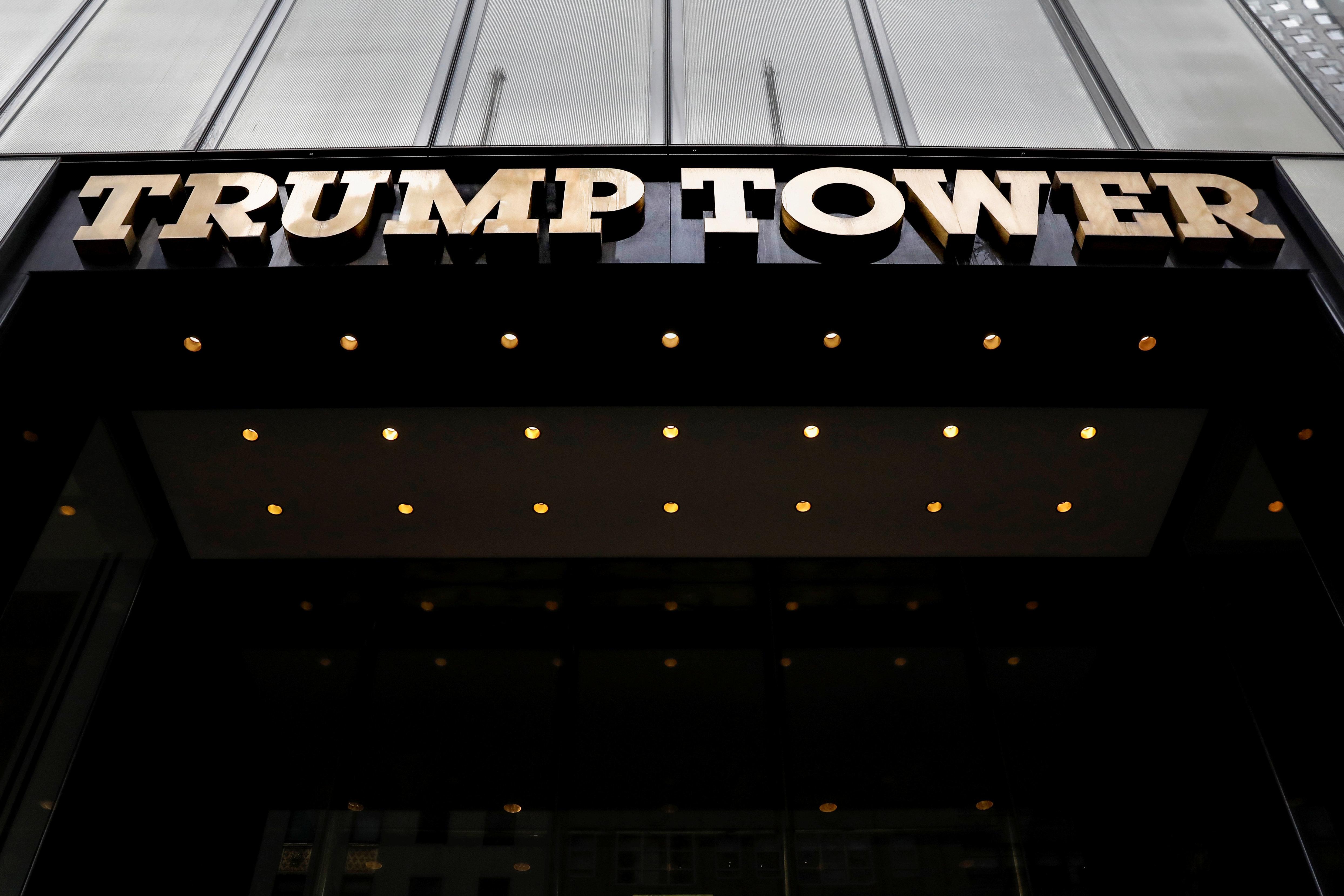 Trump Tower on 5th Avenue is seen in New York City, U.S., April 10, 2018. REUTERS/Brendan McDermid