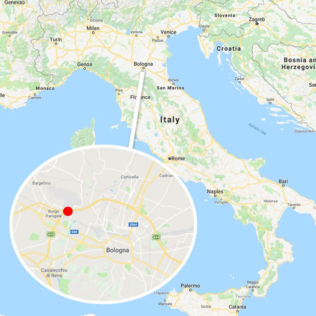 The explosion took place in the northern Italian city of Bologna on