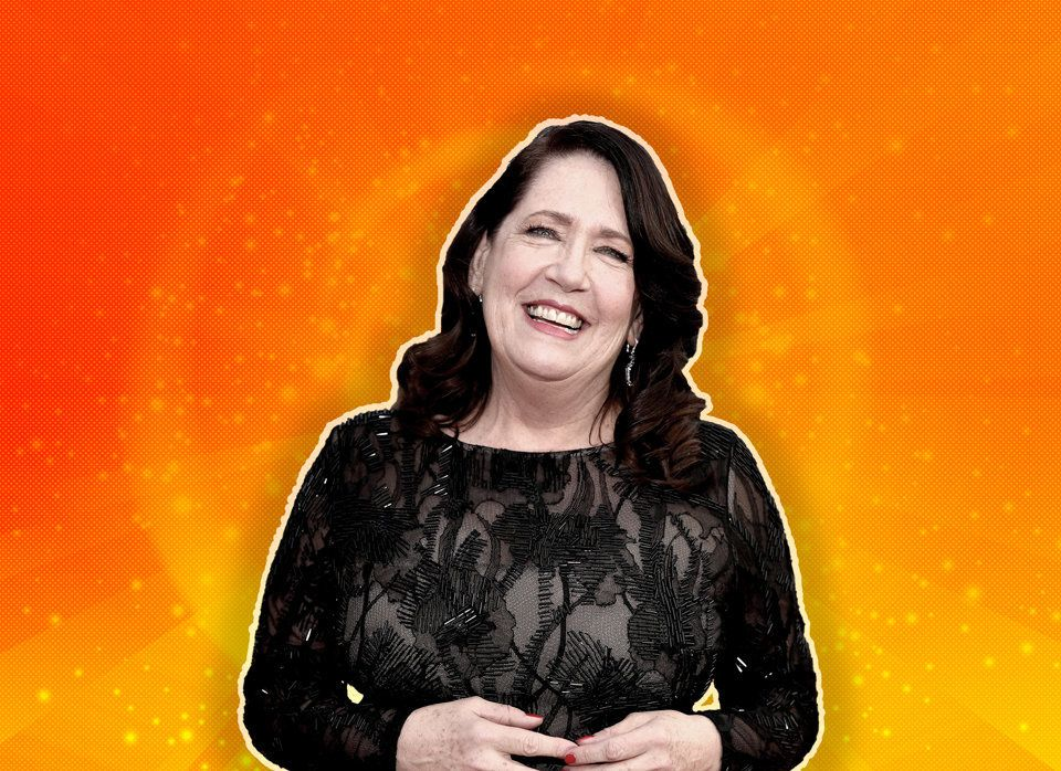 Ann Dowd, radiant at 62.