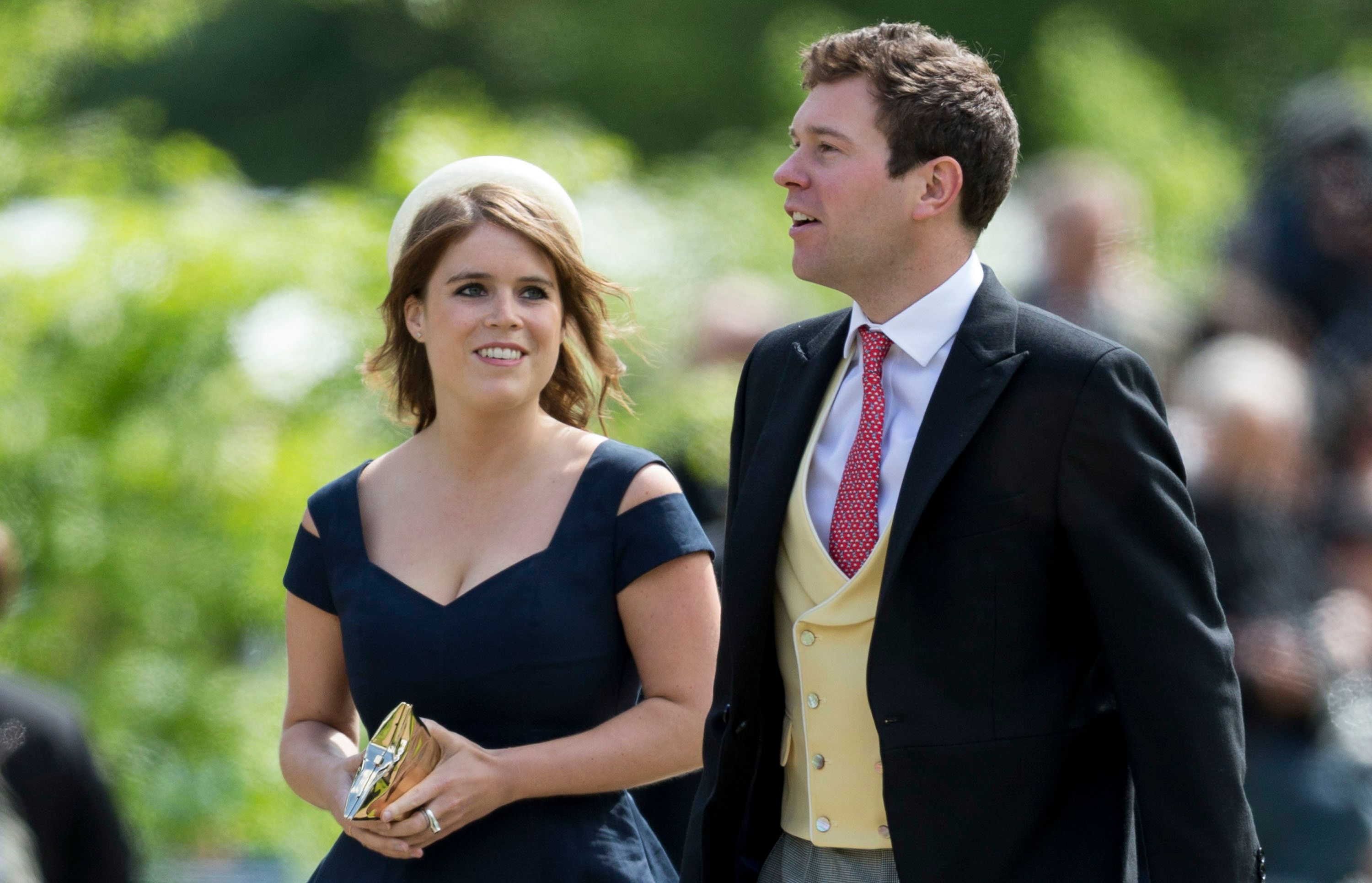 Princess Eugenie Stuns In Statement Shades, Channels Late Aunt Princess Diana