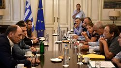 Τρίωρη συνάντηση του Αλ. Τσίπρα με κατοίκους από τις πληγείσες