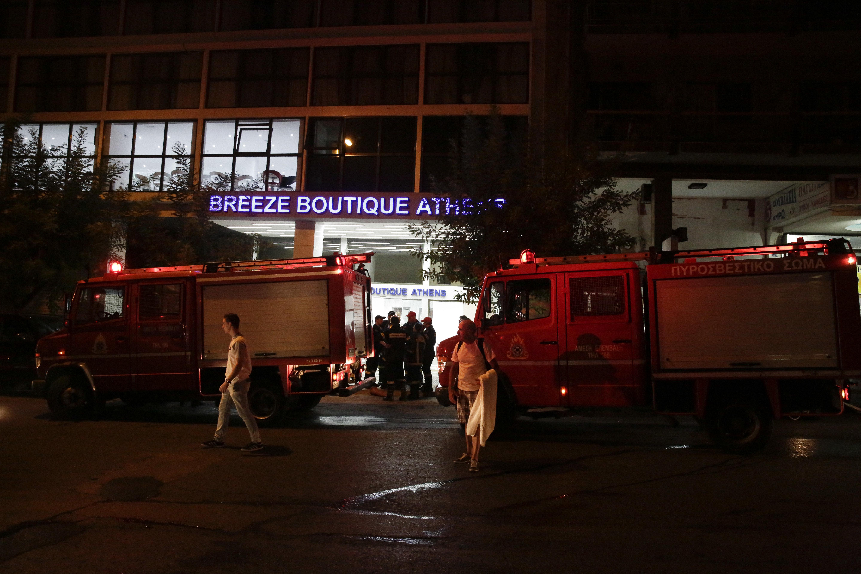 Πυρκαγιά σε ξενοδοχείο στην