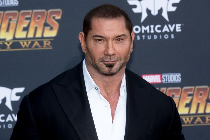 "Dave Bautista has emerged as an outspoken advocate for James Gunn, who was fired from the next ""Guardians of the Galaxy"" movi"