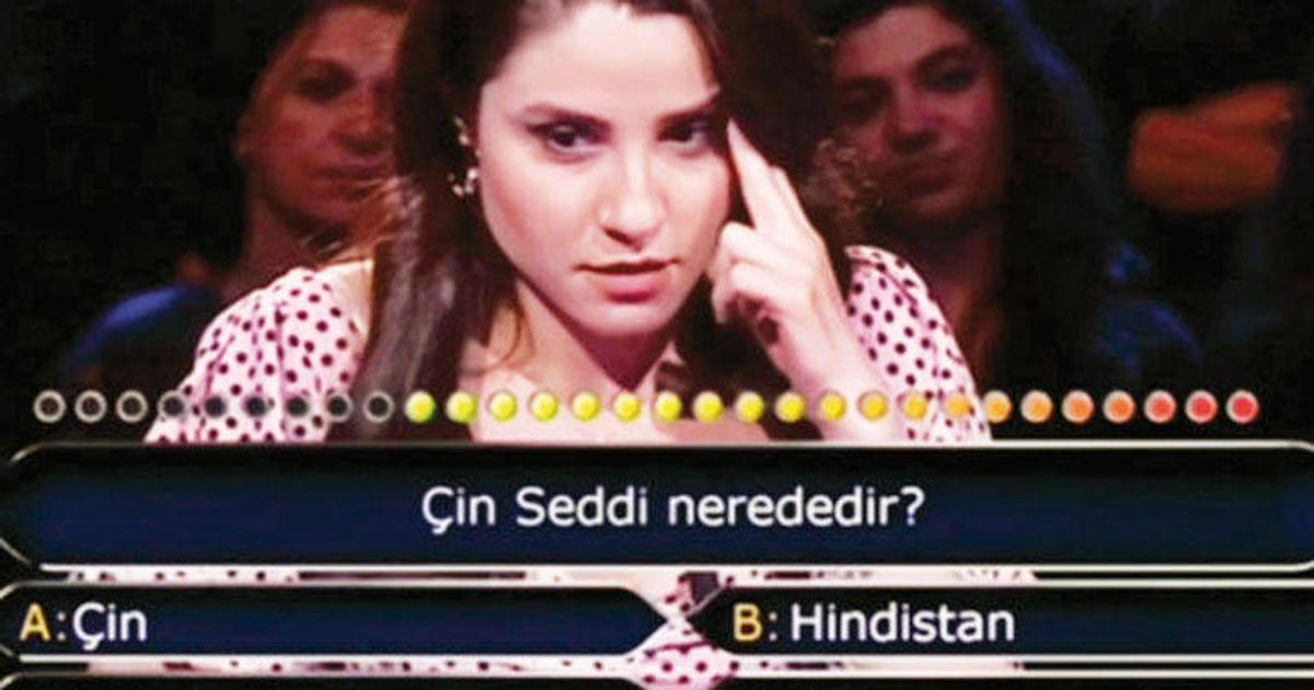 Türkische Quiz-Kandidatin weiß nicht, wo die Chinesische Mauer steht – das Publikum macht alles noch schlimmer