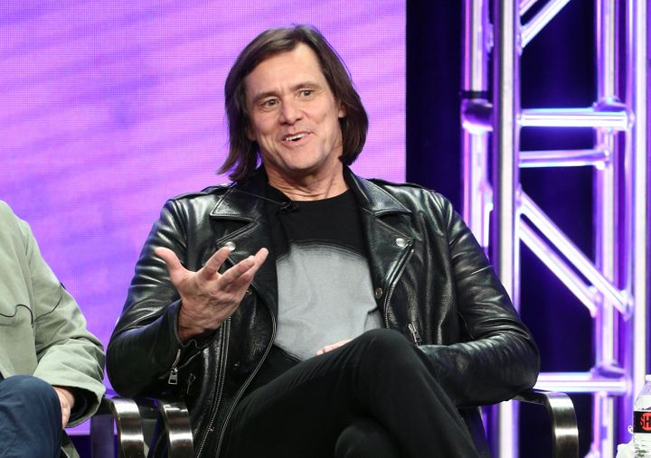 Jim Carrey explained the thought process behind his politically-charged artwork on Monday.