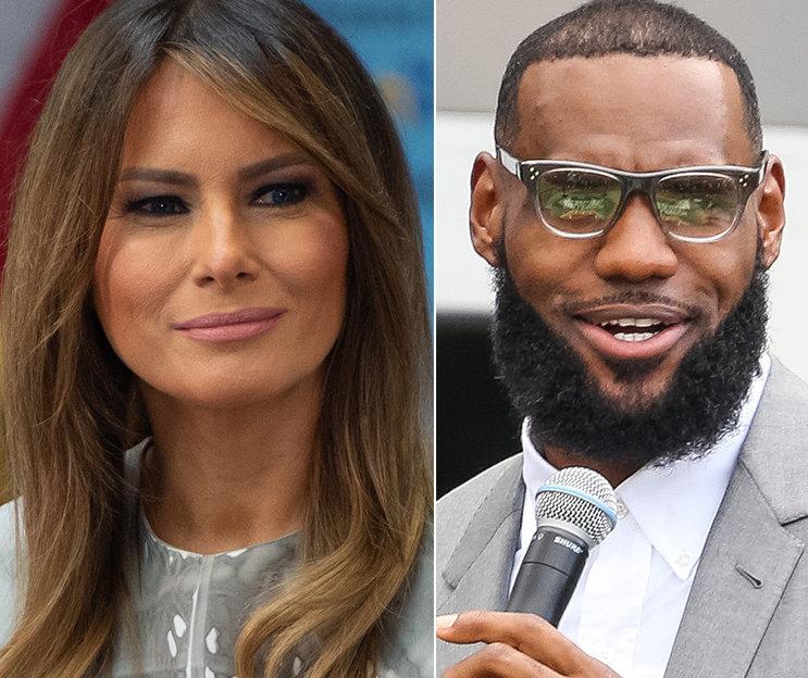 James Corden Notes 1 Funny Similarity Between Melania Trump And LeBron