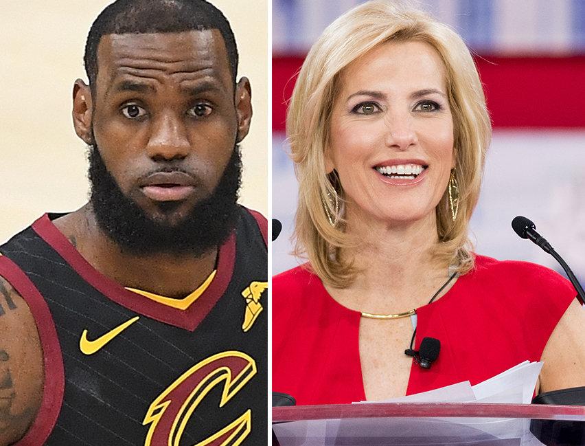 LeBron James Trolls Fox News' Laura Ingraham With New Docu-Series