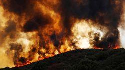 Les images de l'impressionnant incendie du Mendocino Complex en Californie