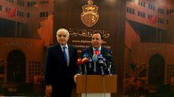 Le processus politique en Libye au coeur d'une discussion entre Khemaies Jhinaoui et Ghassan