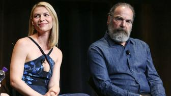 LOS ANGELES, CA - APRIL 03:  Actress Claire Danes (L) and actor Mandy Patinkin attend the ATAS Emmy screening of Showtime's 'Homeland' at NeueHouse Hollywood on April 3, 2017 in Los Angeles, California.  (Photo by Rich Fury/Getty Images)