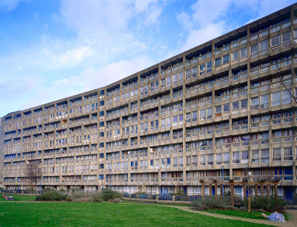 1966~72년에 런던 동쪽에 지어진공공주택 '로빈 후드