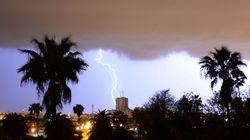 Temps chaud et averses orageuses localement fortes attendus ce mardi au