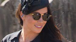 Herzogin Meghans BH sorgt bei Besuch einer Hochzeit mit Prinz Harry für