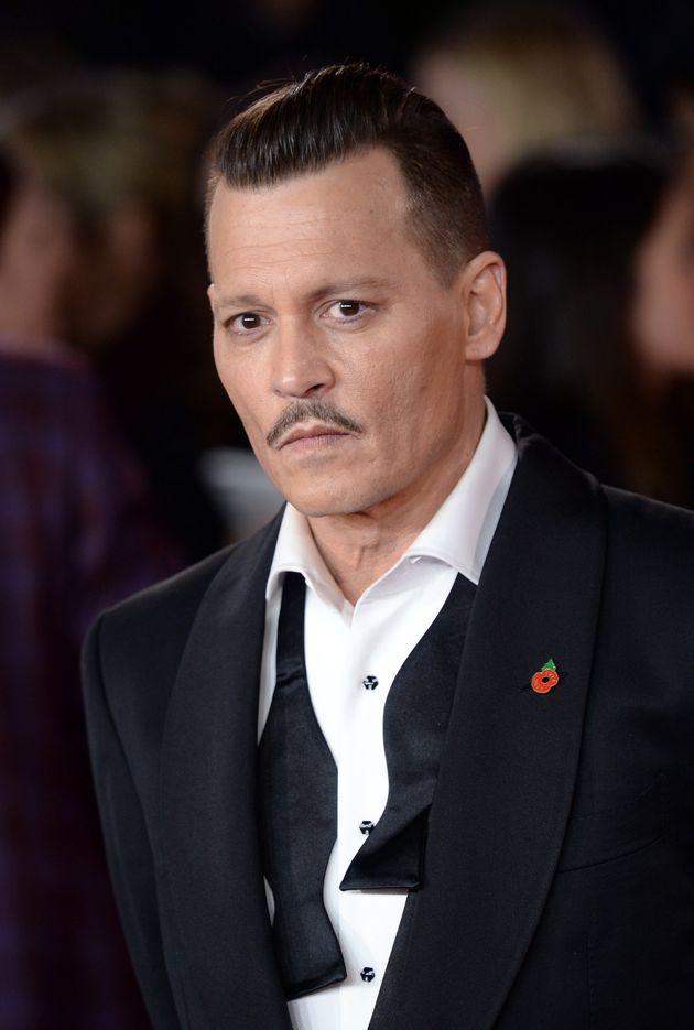 Johnny Depp in November