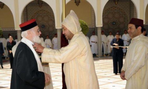 Mort du grand rabbin du Maroc, Aharon