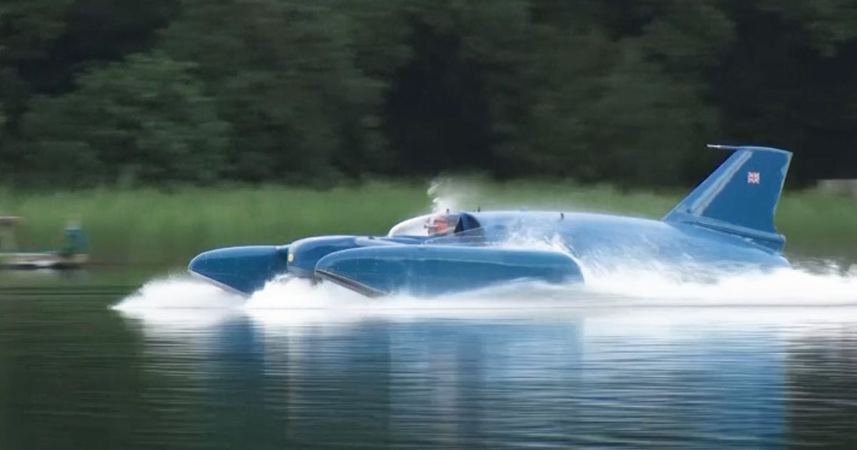 Historic Jet Boat Floats Again, 51 Years After Tragic Crash