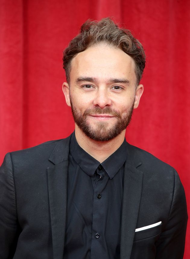 Jack P Shepherd at the Soap Awards last