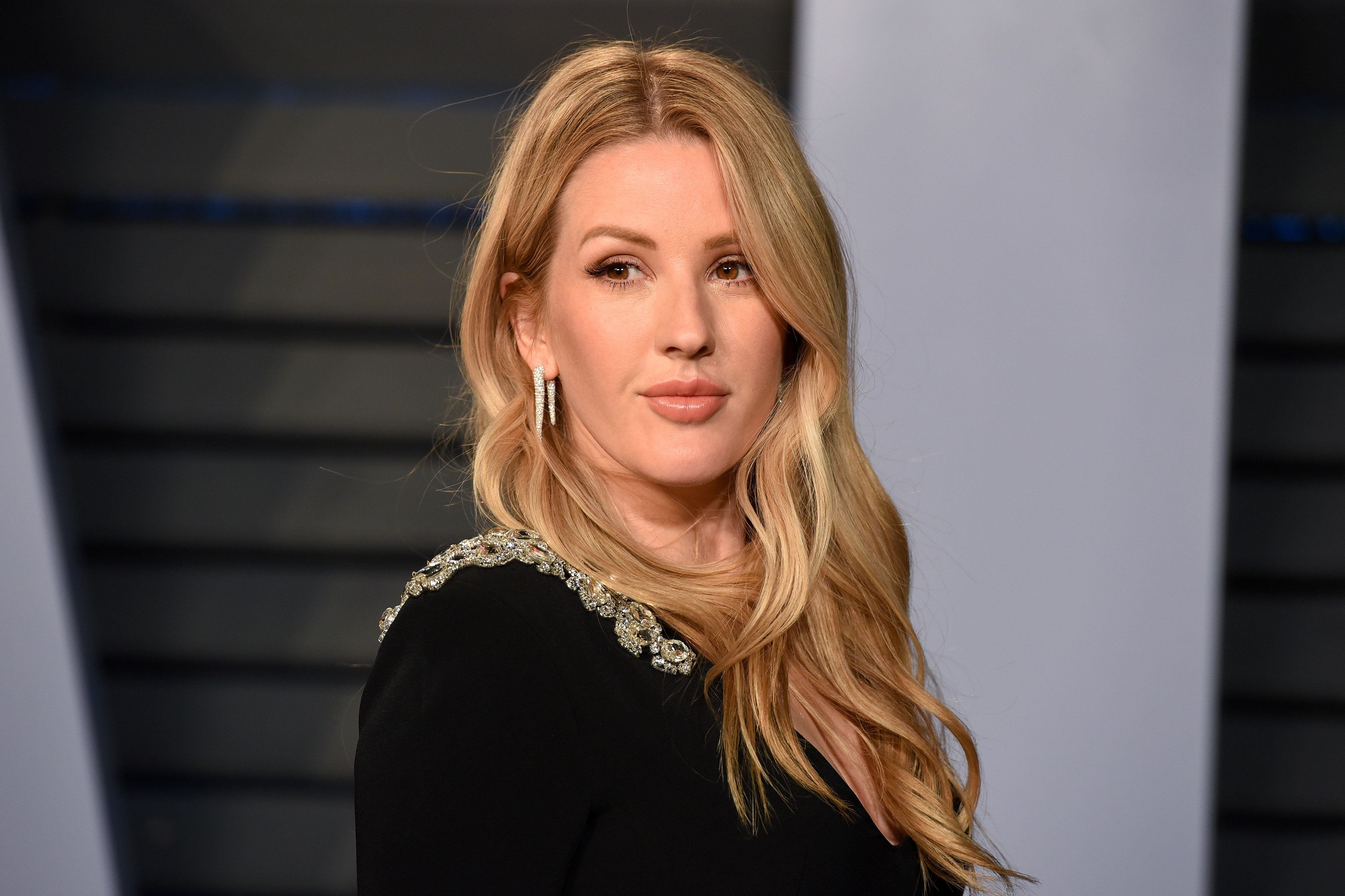 BEVERLY HILLS, CA - MARCH 04:  Ellie Goulding attends the 2018 Vanity Fair Oscar Party Hosted By Radhika Jones - Arrivals at Wallis Annenberg Center for the Performing Arts on March 4, 2018 in Beverly Hills, CA.  (Photo by Presley Ann/Patrick McMullan via Getty Images)