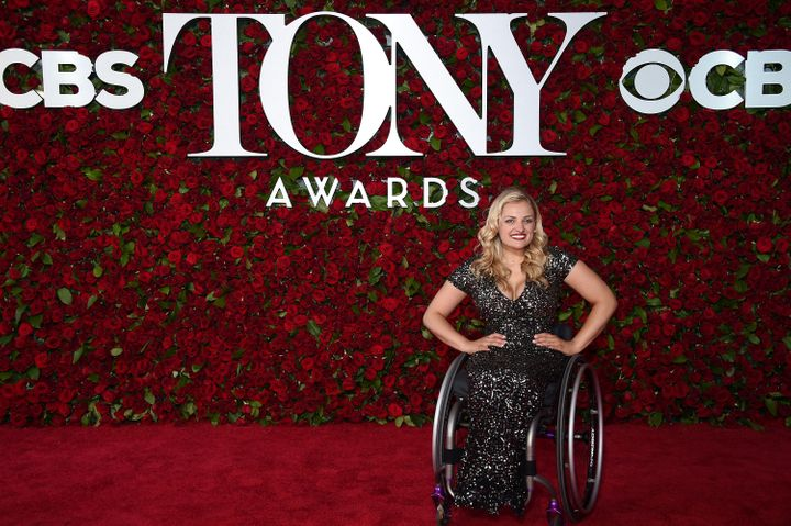 Stroker attends the Tony Awards in 2016 in New York.