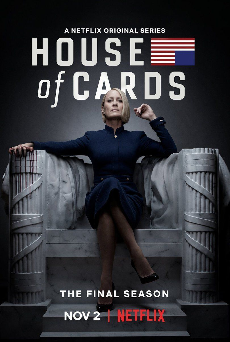 Robin Wright In 'House Of Cards' Promo Is Female President We've Been Waiting