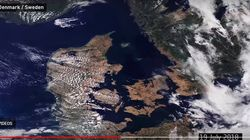 Η καταστροφή της Ευρώπης από τον καύσωνα όπως φαίνεται από το
