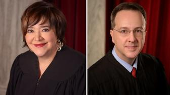 Chief Justice Margaret Workman and Allen Loughry