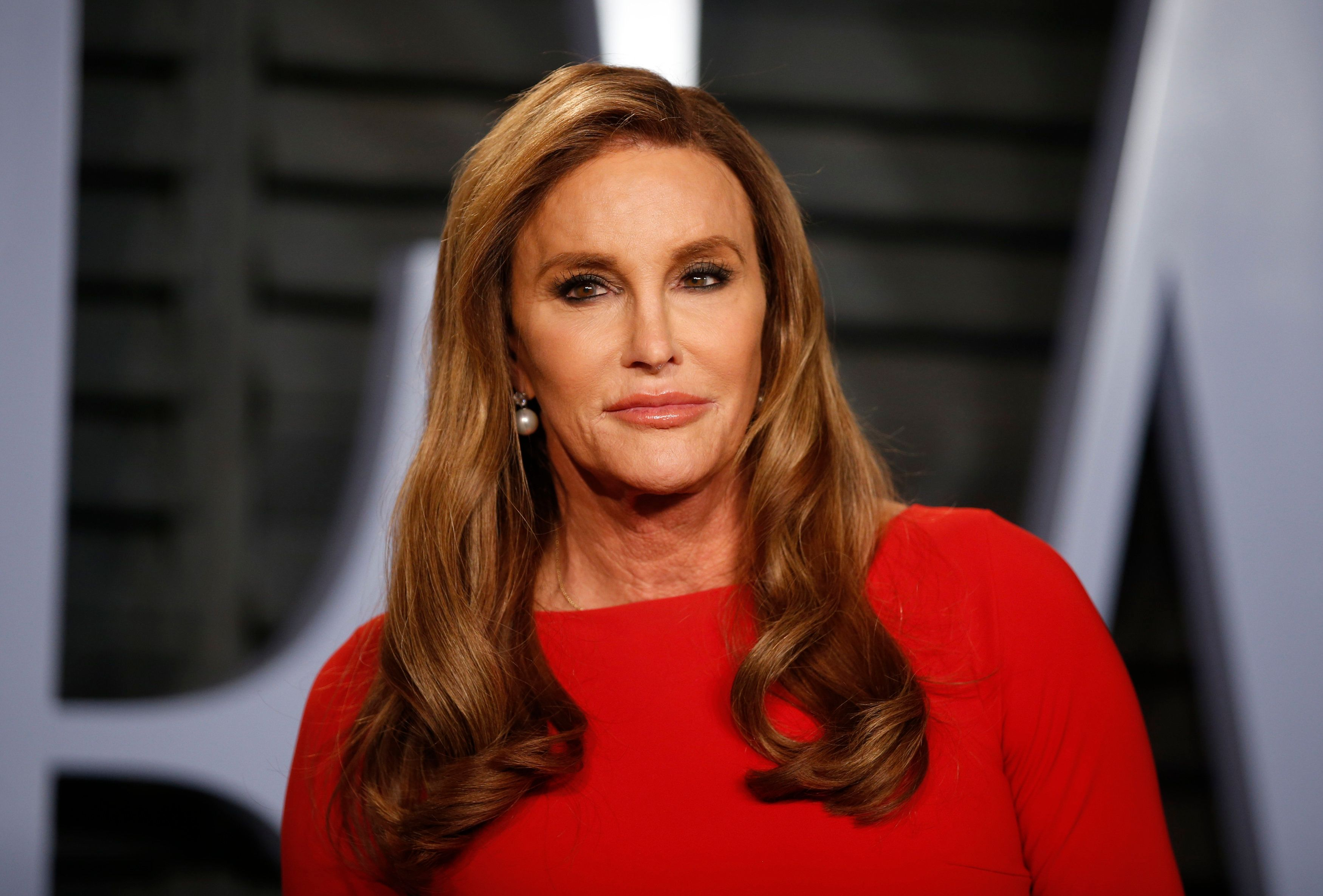2018 Vanity Fair Oscar Party – Arrivals – Beverly Hills, California, U.S., 04/03/2018 –  Caitlyn Jenner. REUTERS/Danny Moloshok