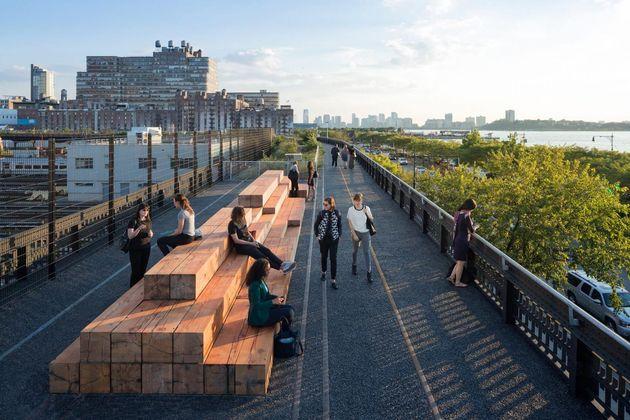 그림9. 전세계 도시재생정책의 롤모델, 뉴욕 하이라인의
