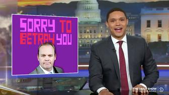 Trevor Noah of The Daily Show weighs in on Rick Gates testimony in the Paul Manafort trial