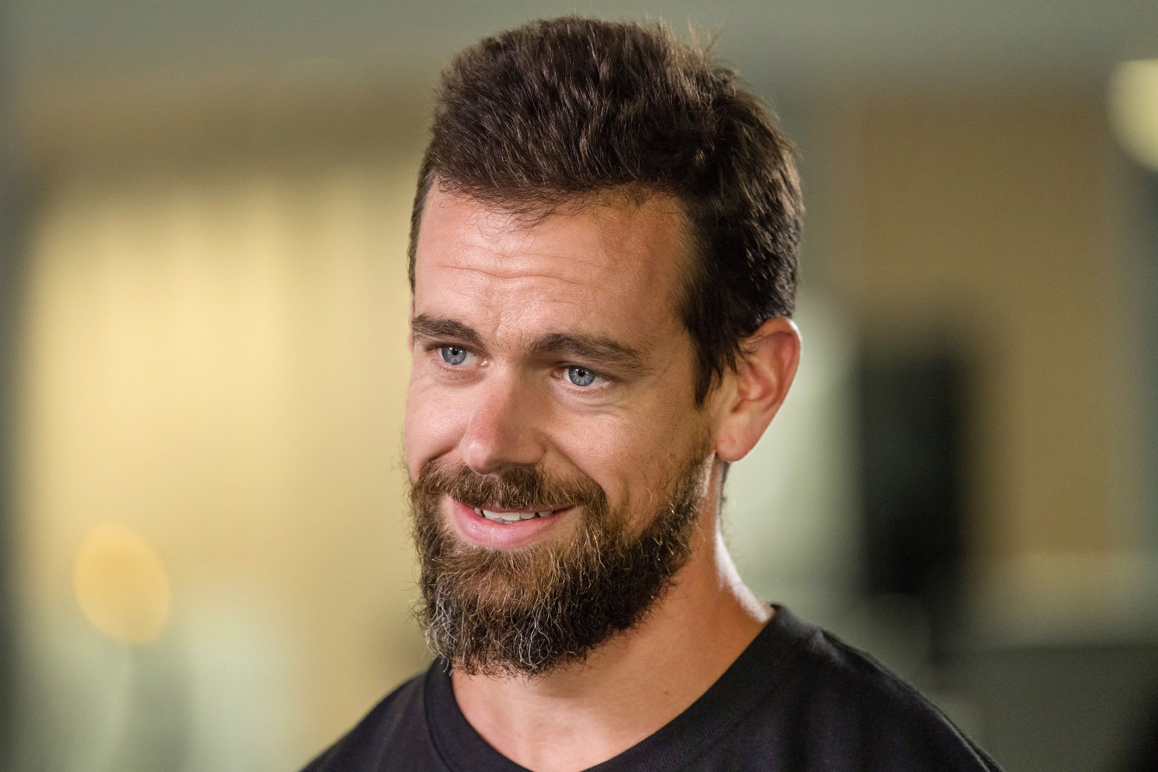Twitter chief executive and co-founder Jack Dorsey has defended the platform for not banning Alex