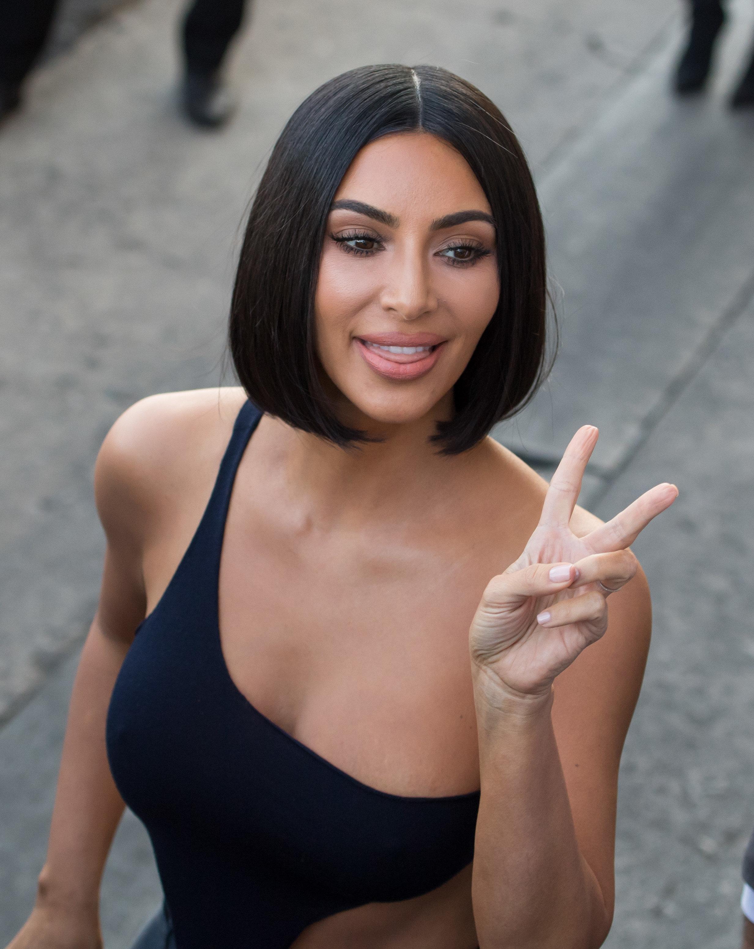 Kim Kardashian's Awkward Photo Shoot Becomes A Priceless New