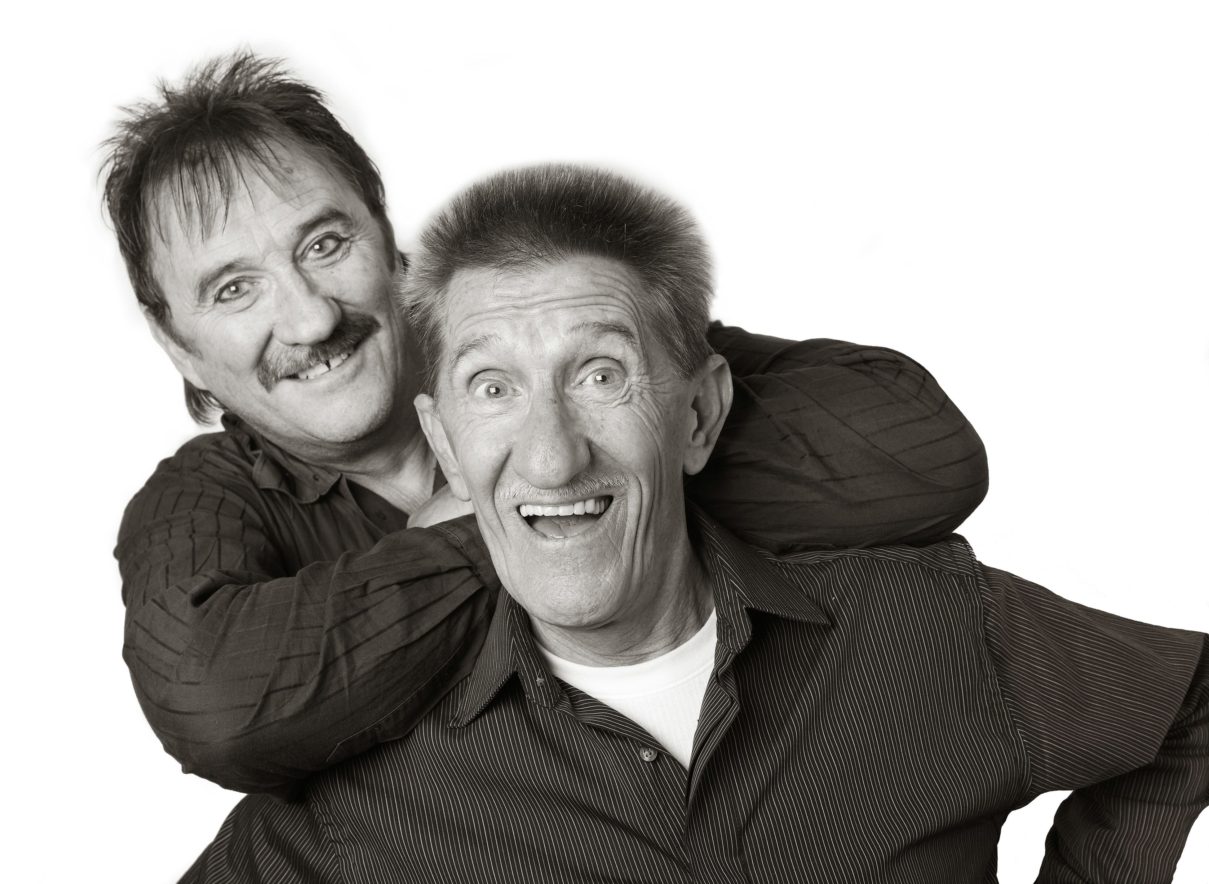 Paul Chuckle and Barry Chuckle of The Chuckle