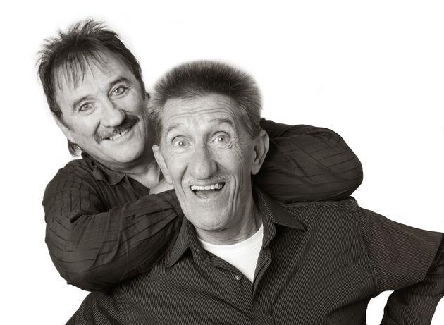 Paul Chuckle and Barry Chuckle of The Chuckle