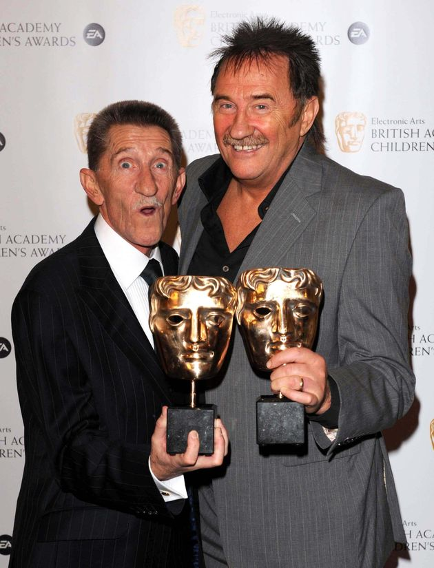 The pair had worked together for years, with their show 'ChuckleVision' even winning a Childrens