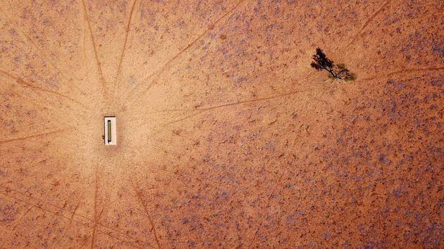 Australia's most populous state, New South Wales is now 100% in drought - a property on the outskirts...