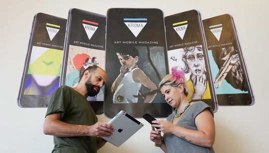 KROMA Magazine: Δύο δημιουργικοί Έλληνες καινοτομούν, εκδίδοντας σε app το Νο1 περιοδικό Τέχνης στον